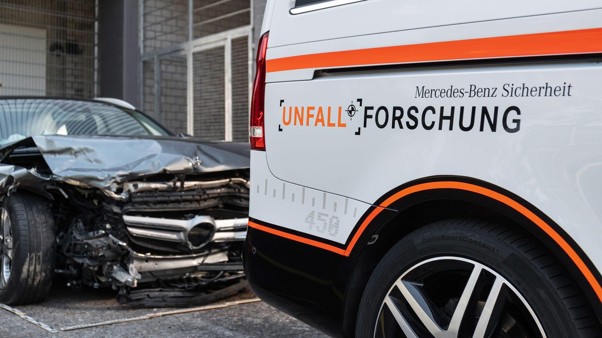 Mercedes–Benz путь к совершенству – 50 лет исследований аварий