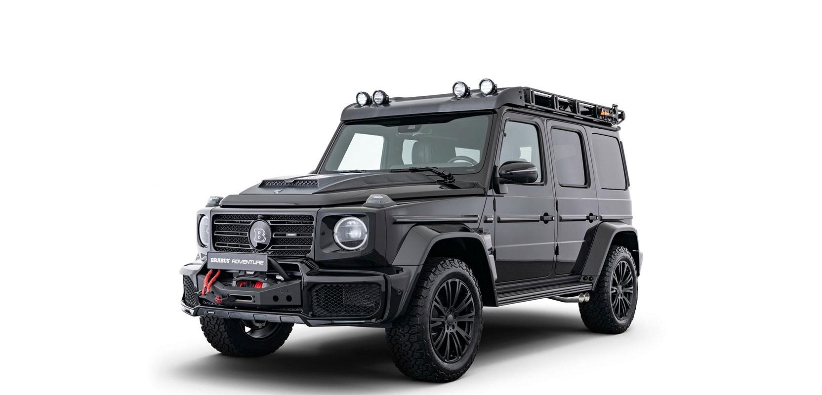 Новий позашляховик Brabus Adventure на базі Mercedes–Benz G 350 d