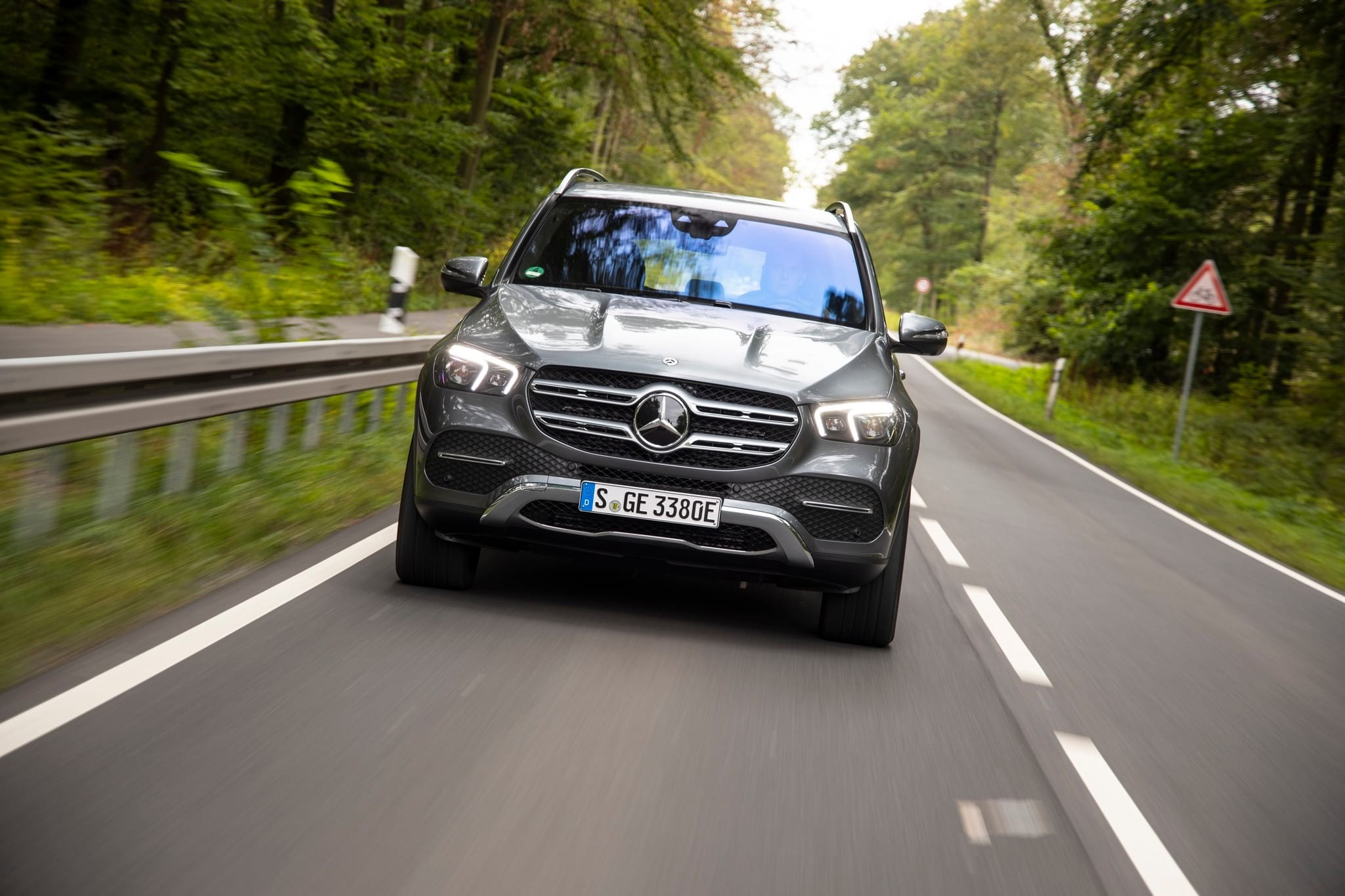 Новий GLE 350 de 4MATIC: рекордний запас ходу