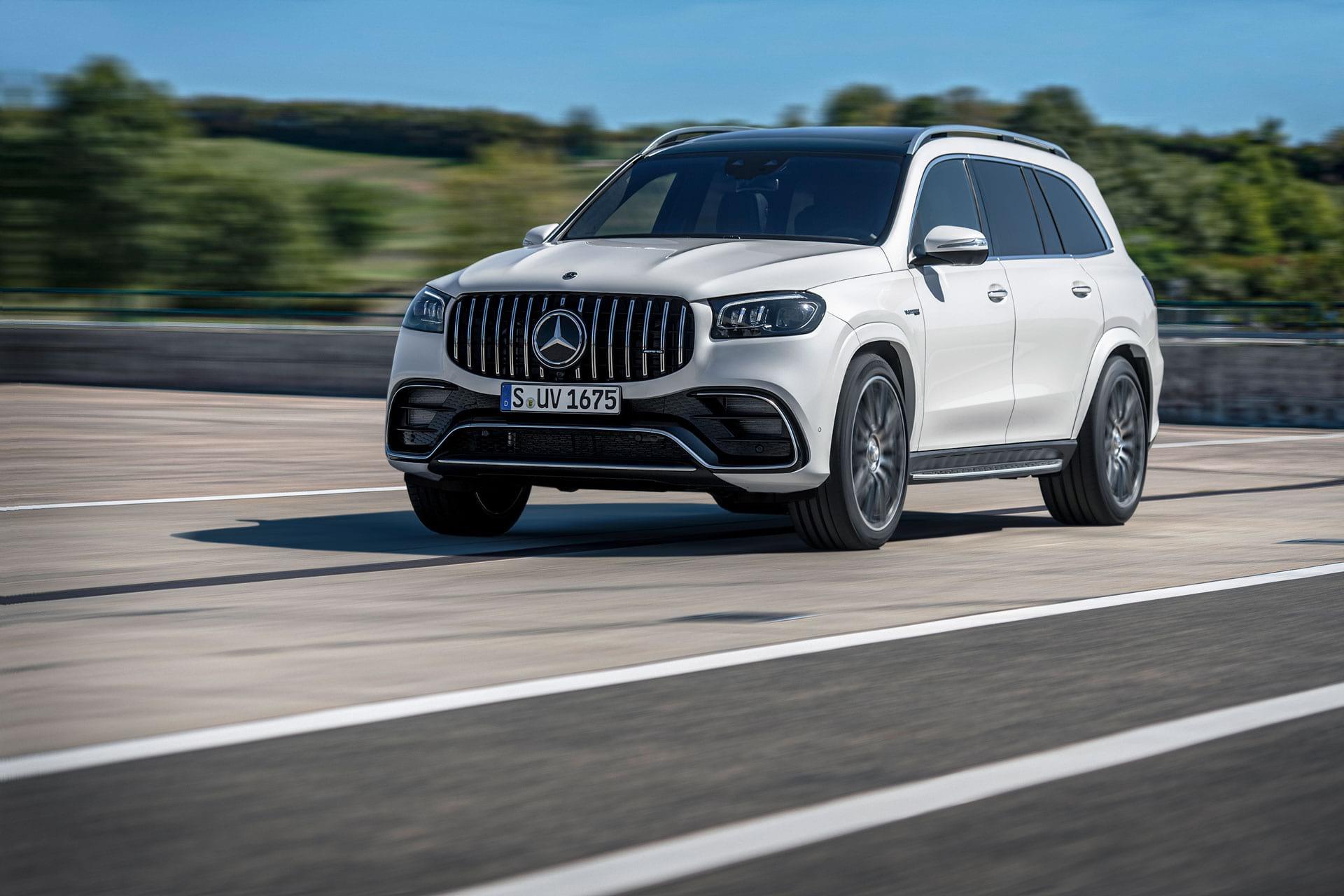 Новий Mercedes–AMG GLS 63 4MATIC безкомпромісна потужність