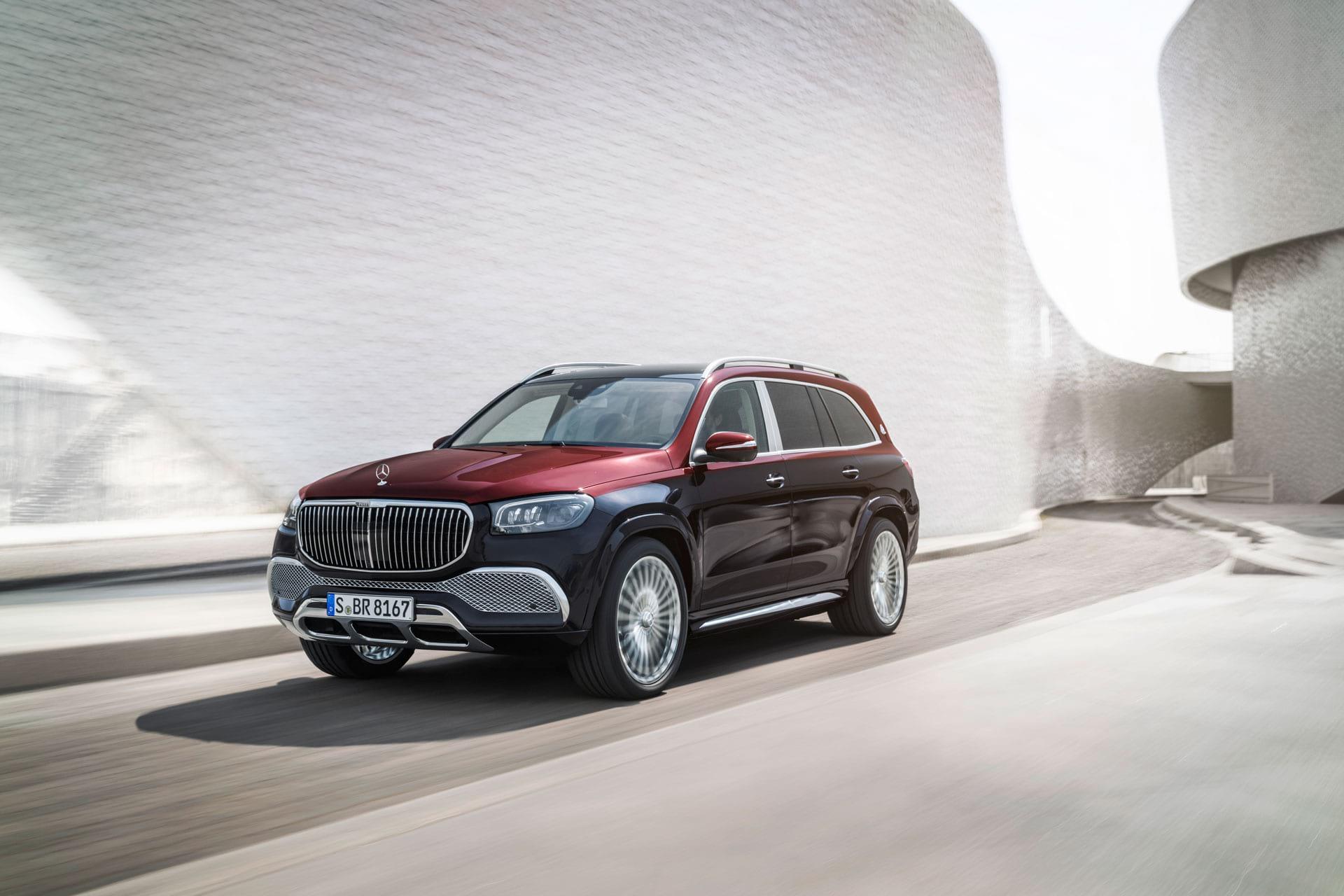 Прем'єра Mercedes-Maybach GLS - нова форма розкоші