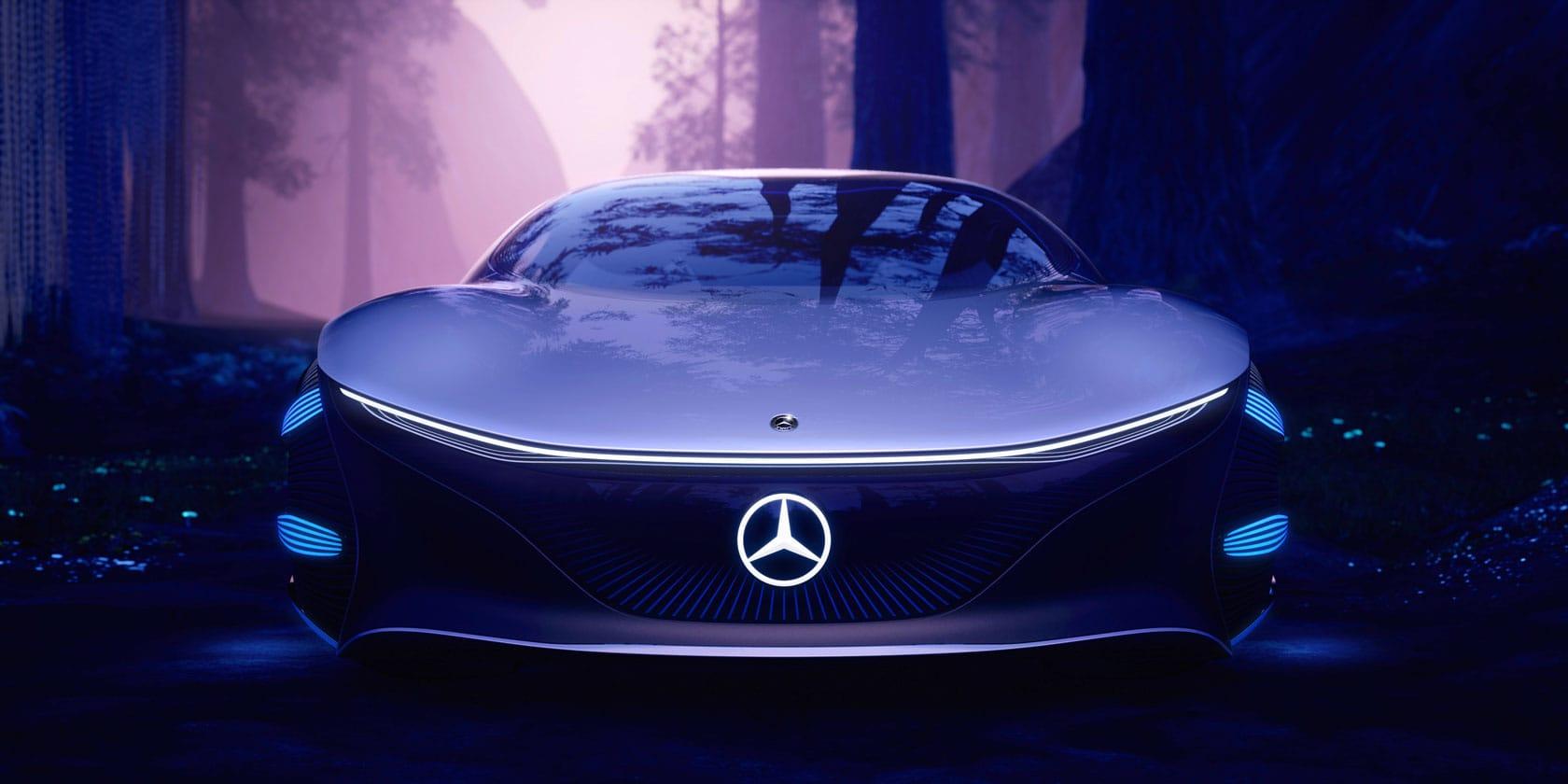 Новий Mercedes-Benz VISION AVTR