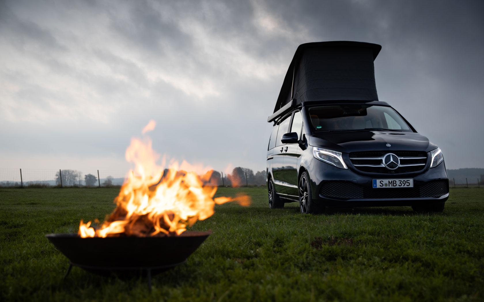 Mercedes-Benz Marco Polo на виставці Caravan 2020