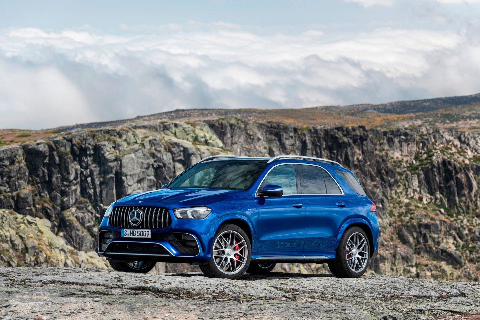 Mercedes-AMG GLE та GLS 63 початок продажів