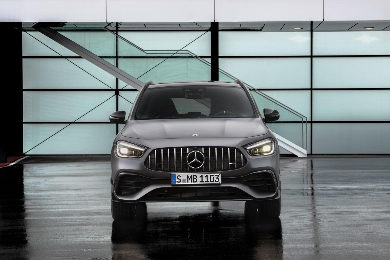 Mercedes–AMG GLA 45 4MATIC + новий спортивний позашляховик
