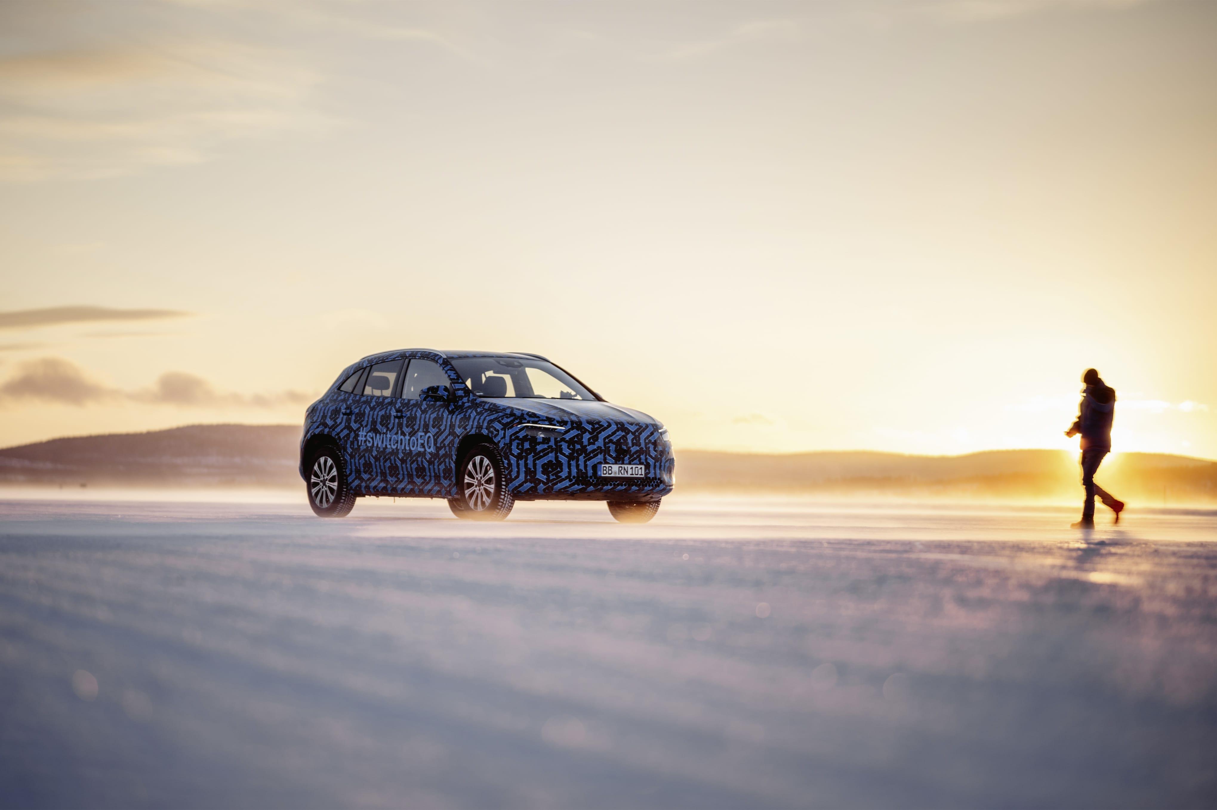 Mercedes–Benz EQA компактний електрокар