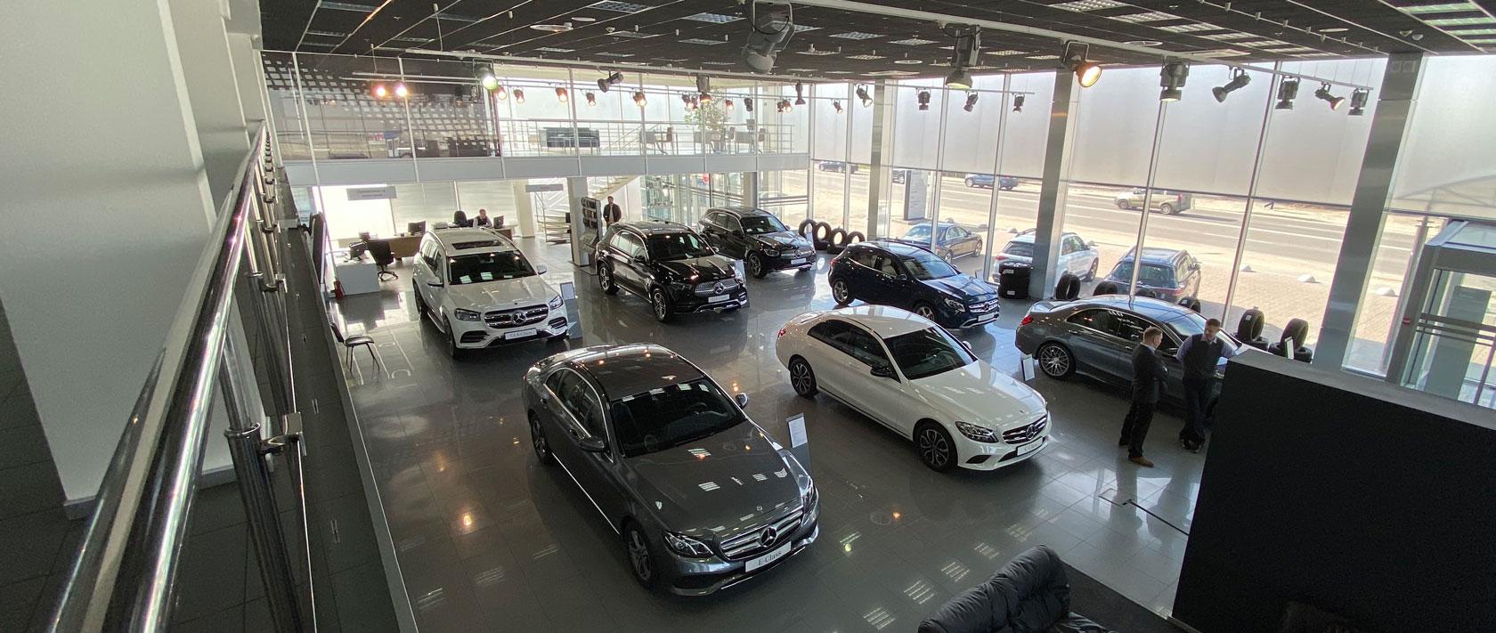 Обирайте свій Mercedes-Benz онлайн в Автоцентрі на Кільцевій