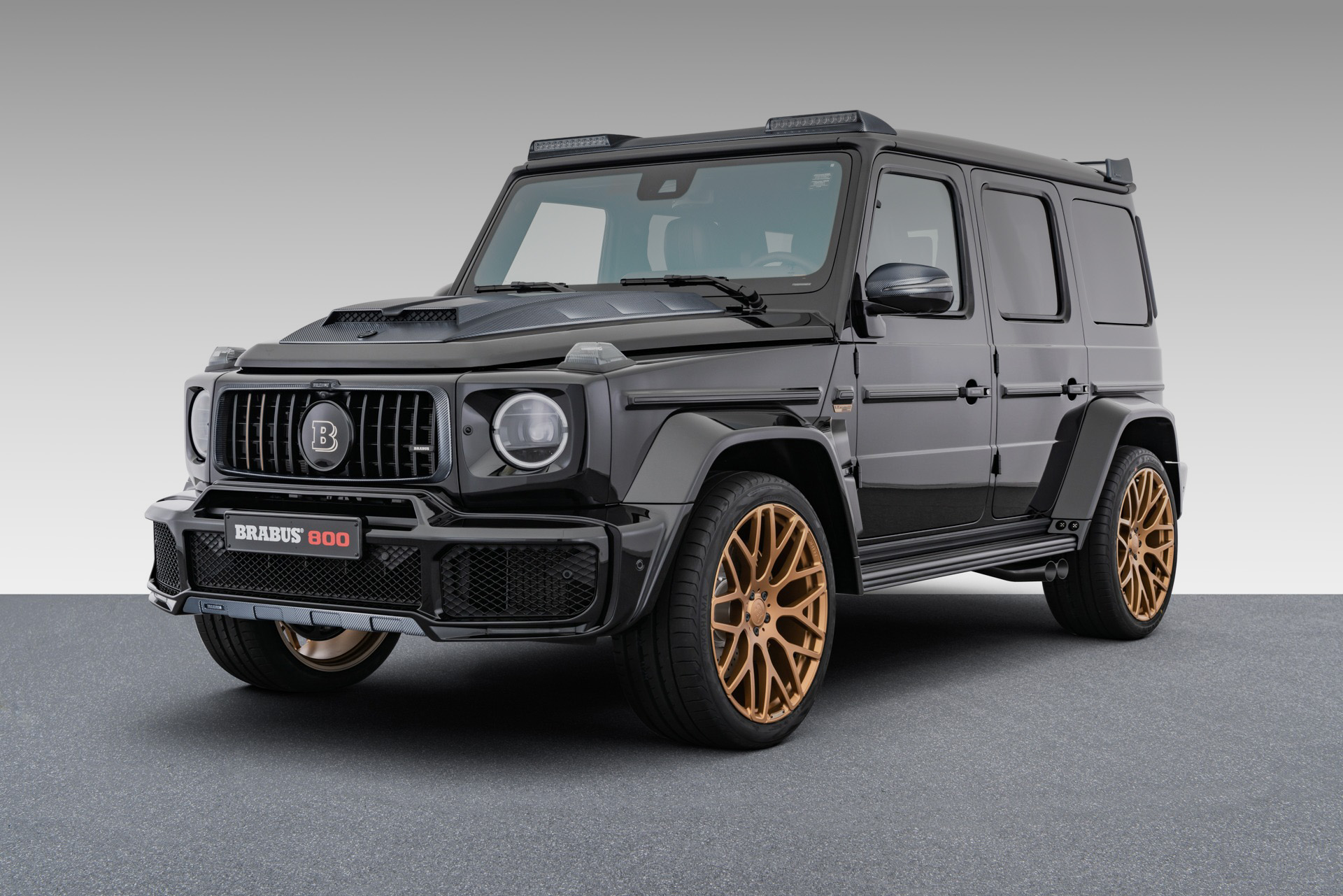 Mercedes—AMG G 63 — тюнінгована версія Brabus 800 Black and Gold