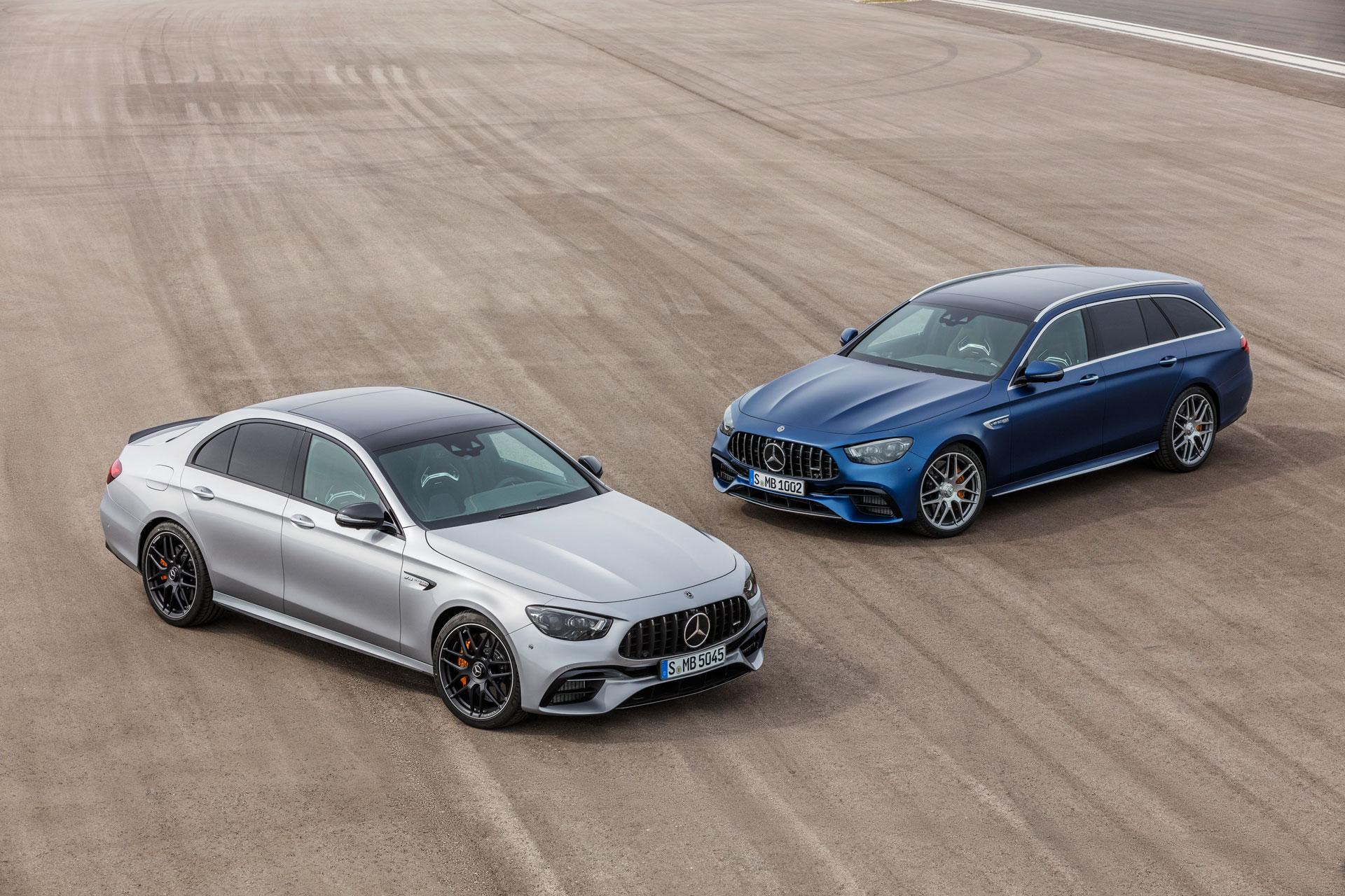 Mercedes-AMG E 63 4MATIC + седан і універсал після глобального оновлення