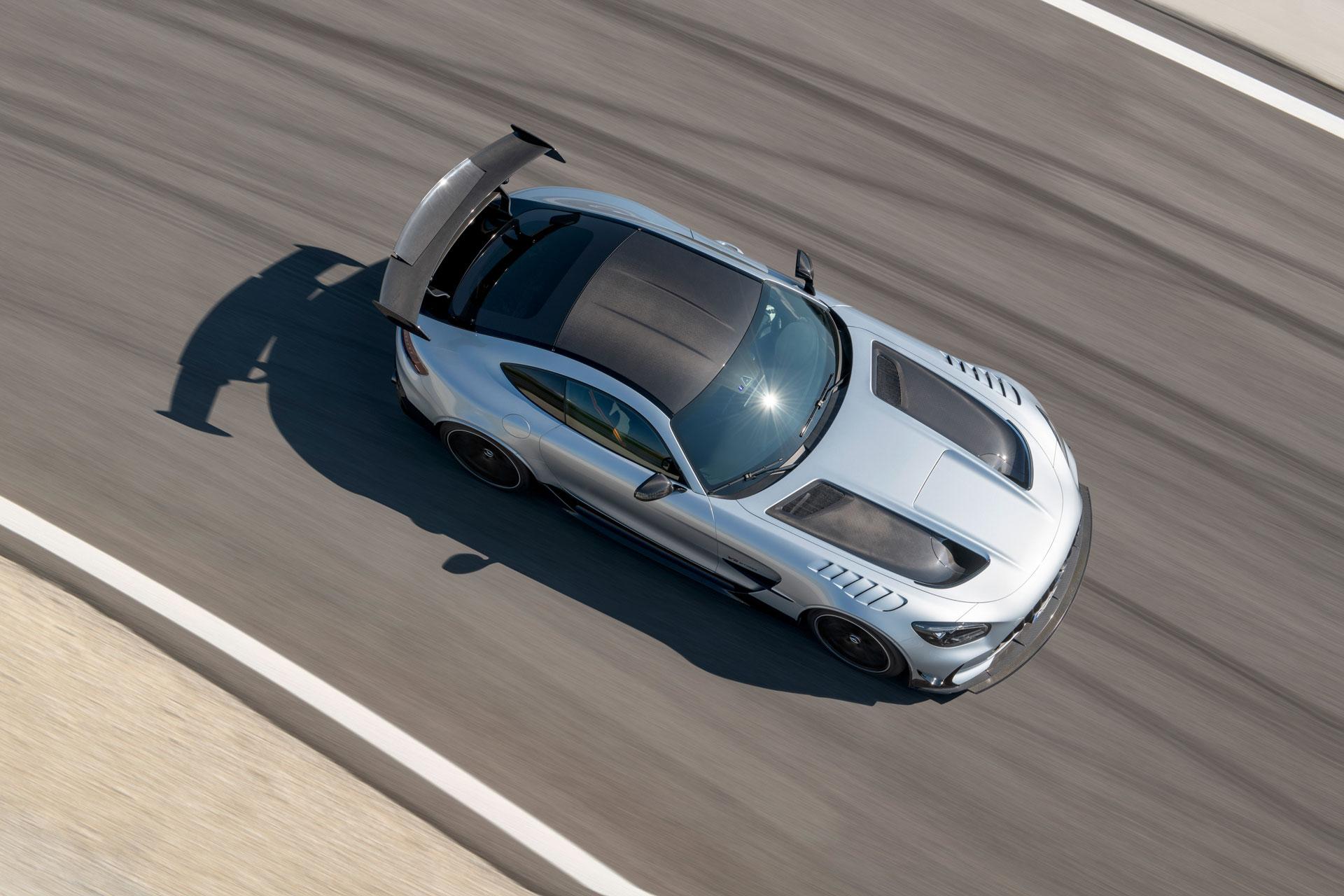Mercedes-AMG GT Black Series - вершина спортивної продуктивності