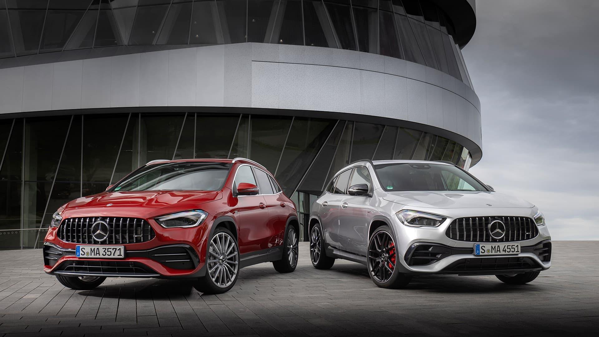 Mercedes-AMG GLA 35 4MATIC та GLA 45 4MATIC + новинки в сімействі компактних моделей