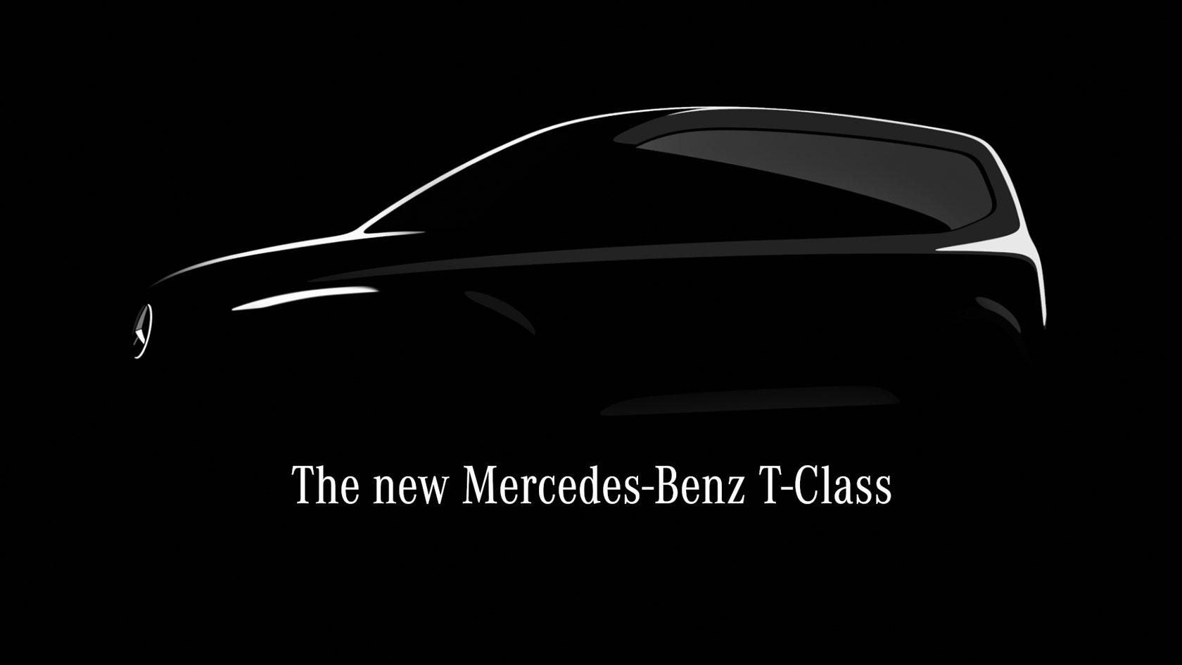 Mercedes-Benz T-Class компактний міський мінівен