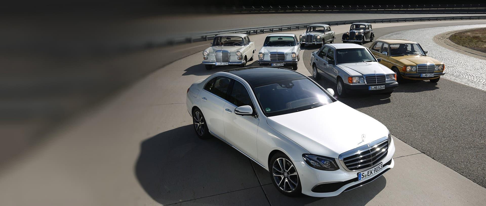 Mercedes-Benz E-Class - як створювалася легендарна модель