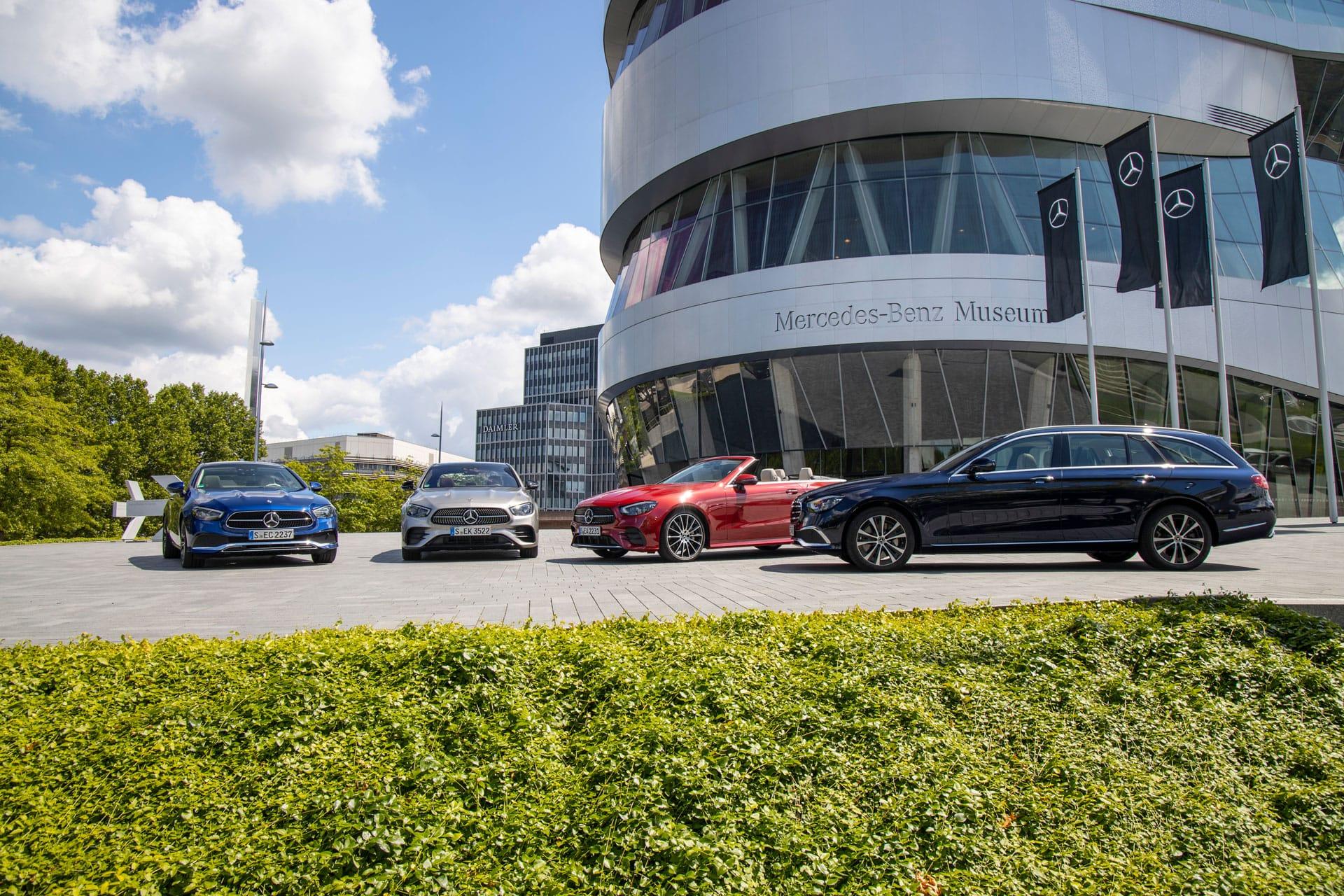 Оновлений Mercedes-Benz E-Class ще більш інтелектуальний і ефективний