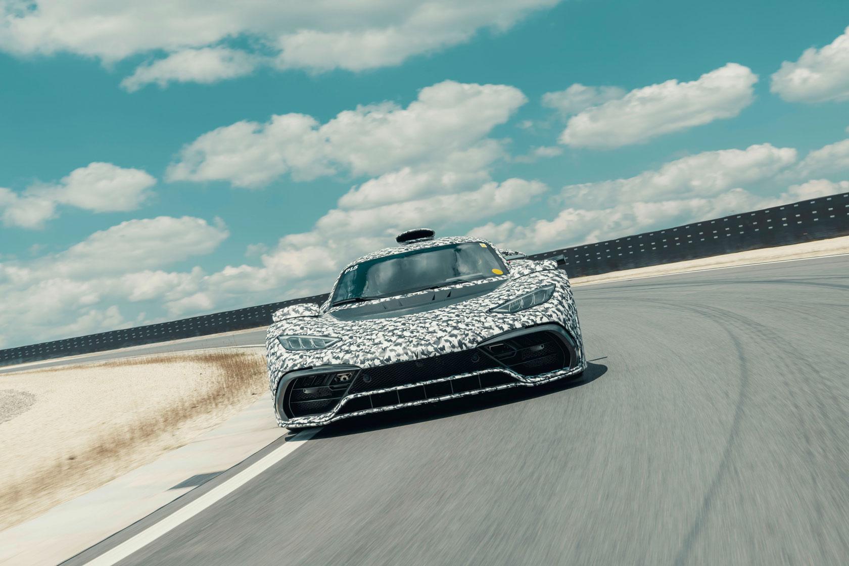Mercedes-AMG Project ONE проходить фінальні тест-драйви