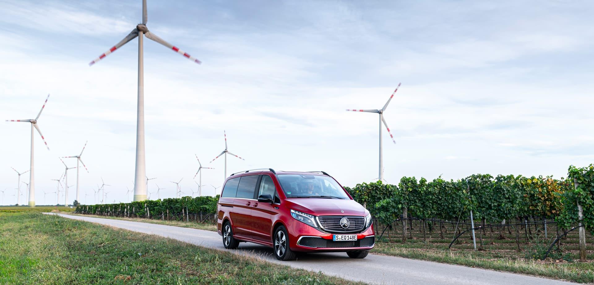 Mercedes-Benz EQV: тест-драйв у Відні