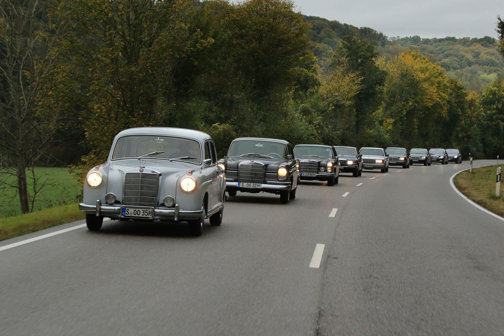 Mercedes-Benz S-Class: розкішне покоління S