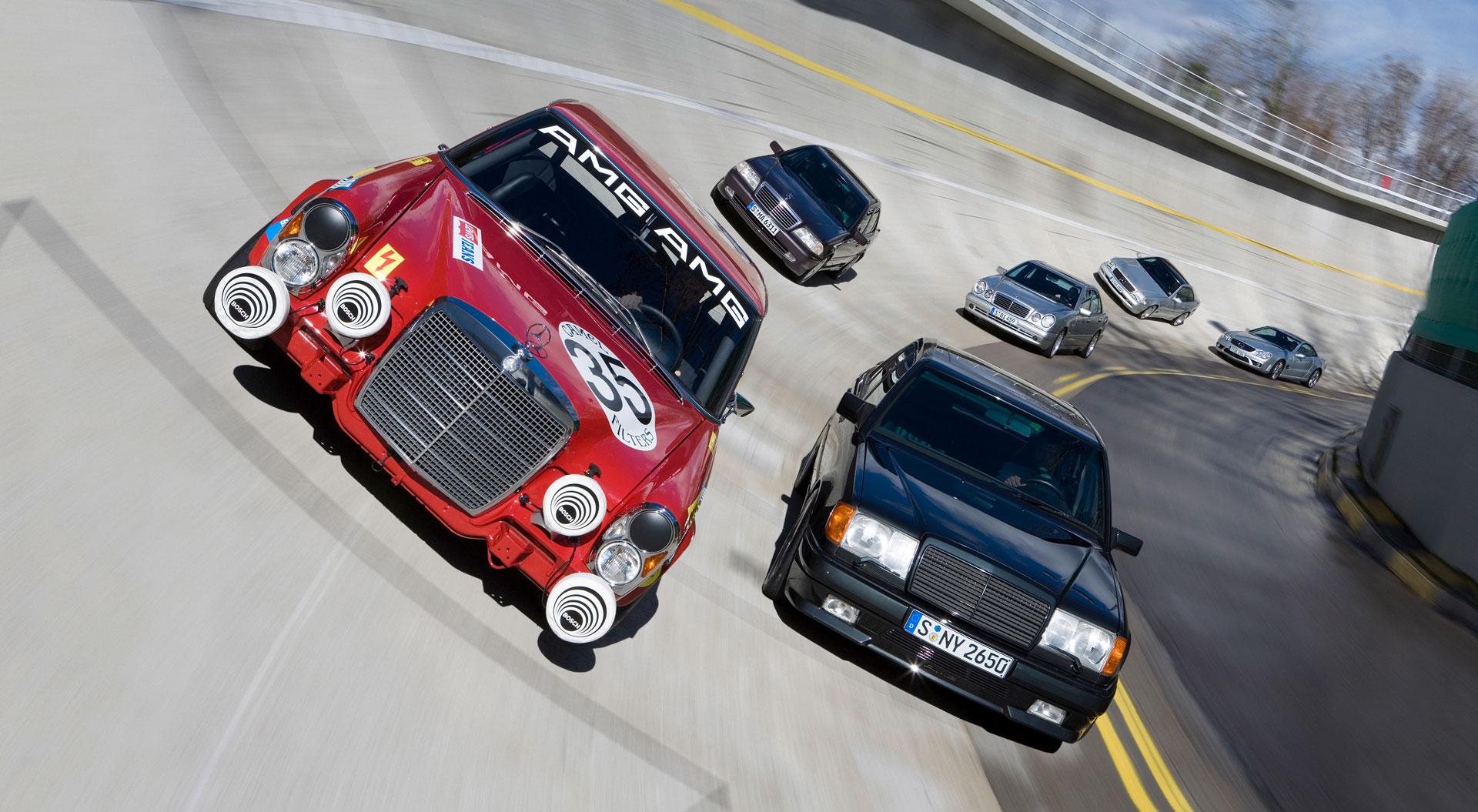 Mercedes-AMG: 10 фактів, які ви могли не знати