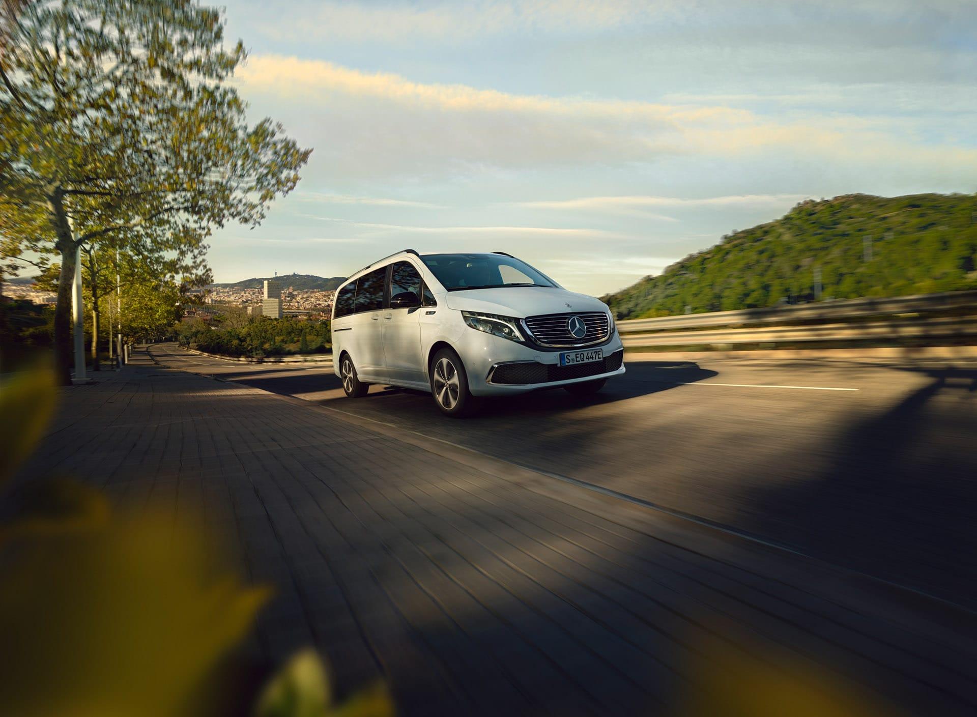 Mercedes-Benz EQV – зробіть крок назустріч новому поколінню електрокарів