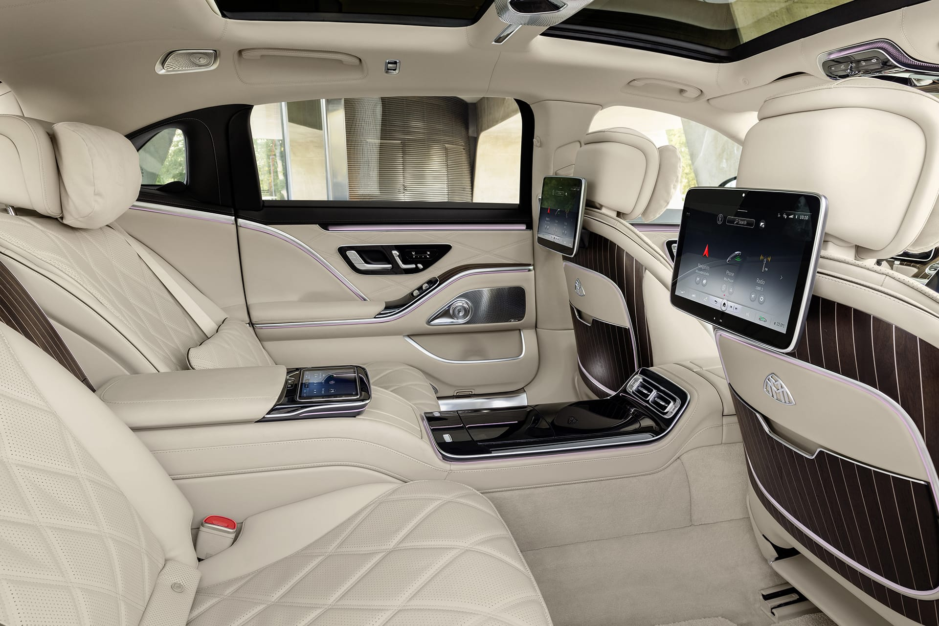 Mercedes-Maybach S-Class 2021 система Mercedes-Benz User Experience