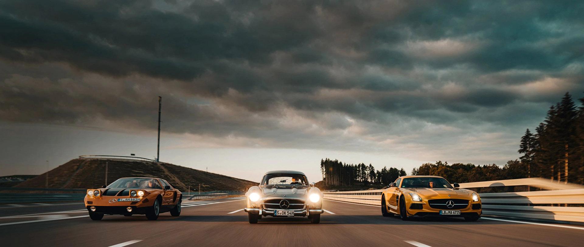 Mercedes-Benz крило чайки – легендарні моделі