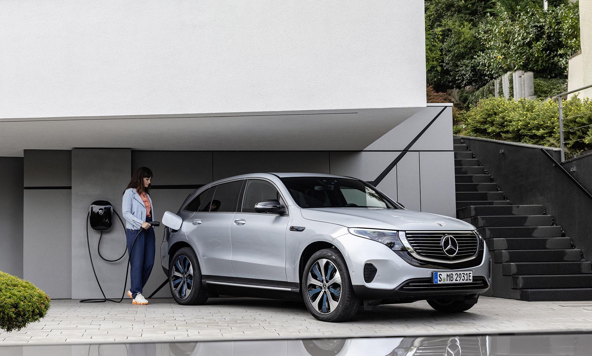 Mercedes-Benz EQ – повний перехід компанії на виробництво електрокарів
