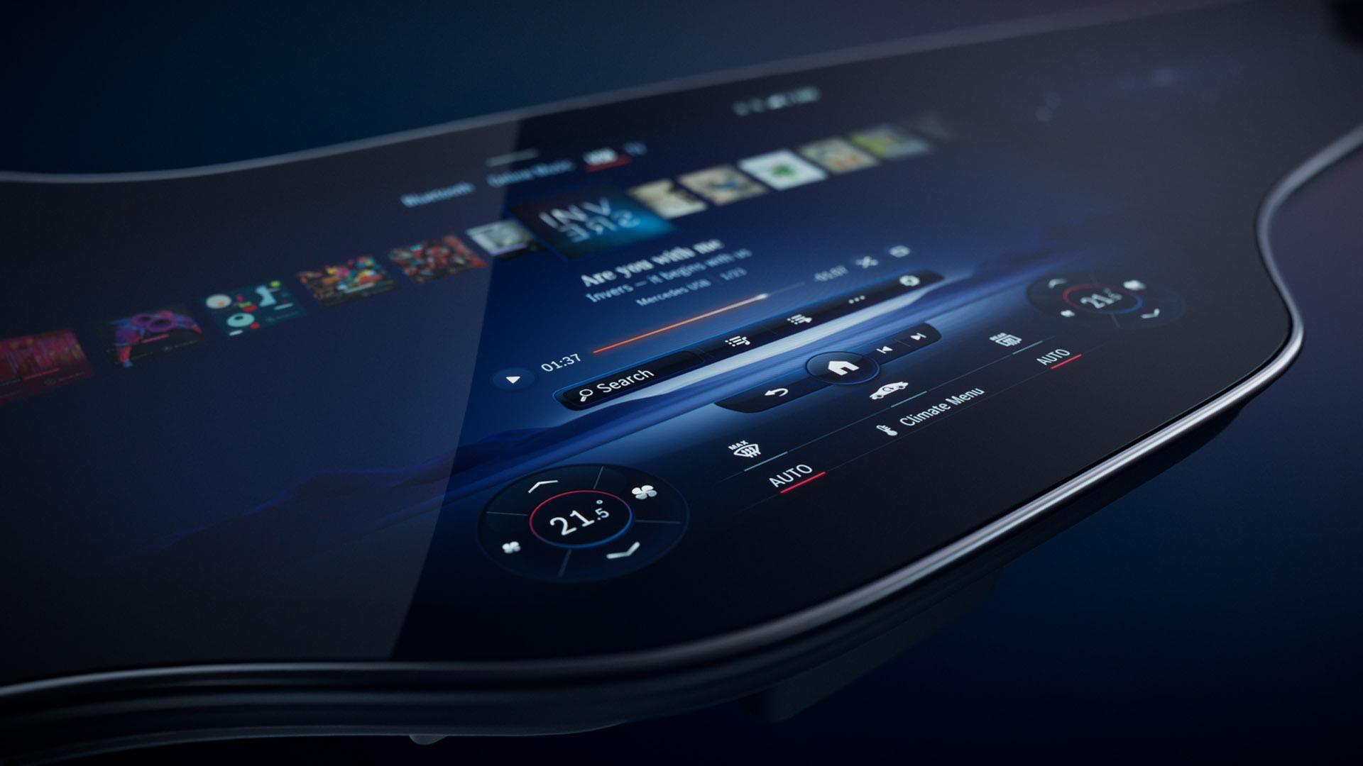 Mercedes-Benz User Experience Hyperscreen – штучний інтелект у вашому EQS