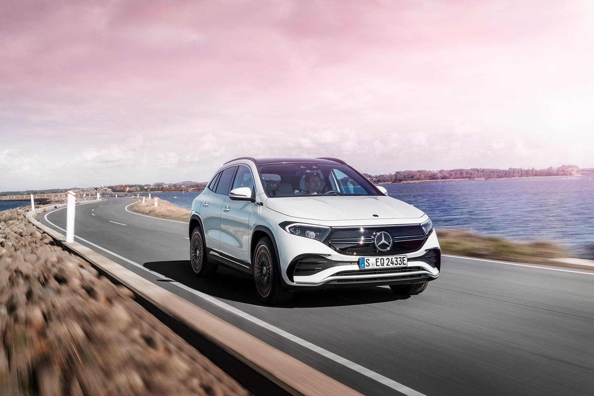Mercedes-Benz EQA: прем'єра компактного електричного кросовера