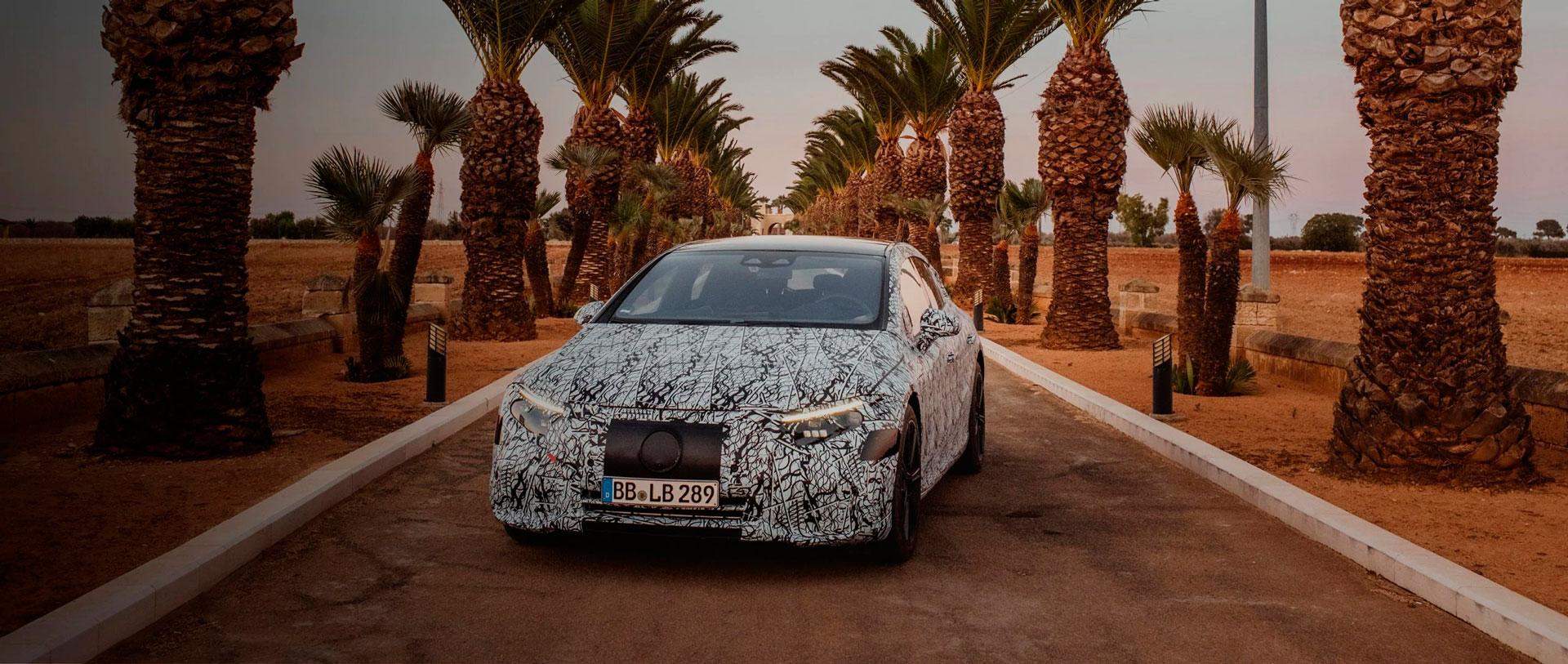 Mercedes-Benz EQS - нова ера електромобільності