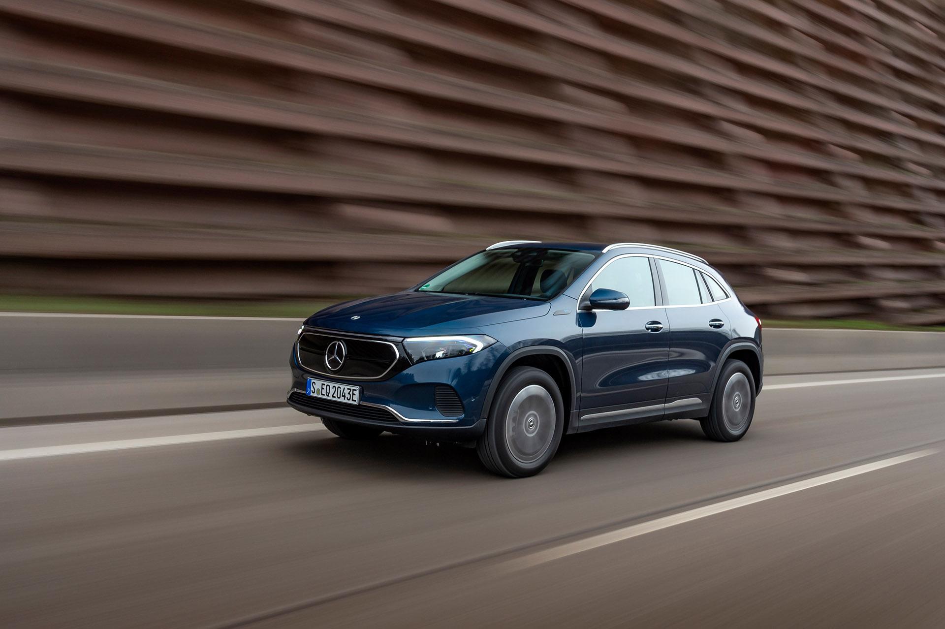Mercedes-Benz EQA: розширення сімейства електричних кросоверів
