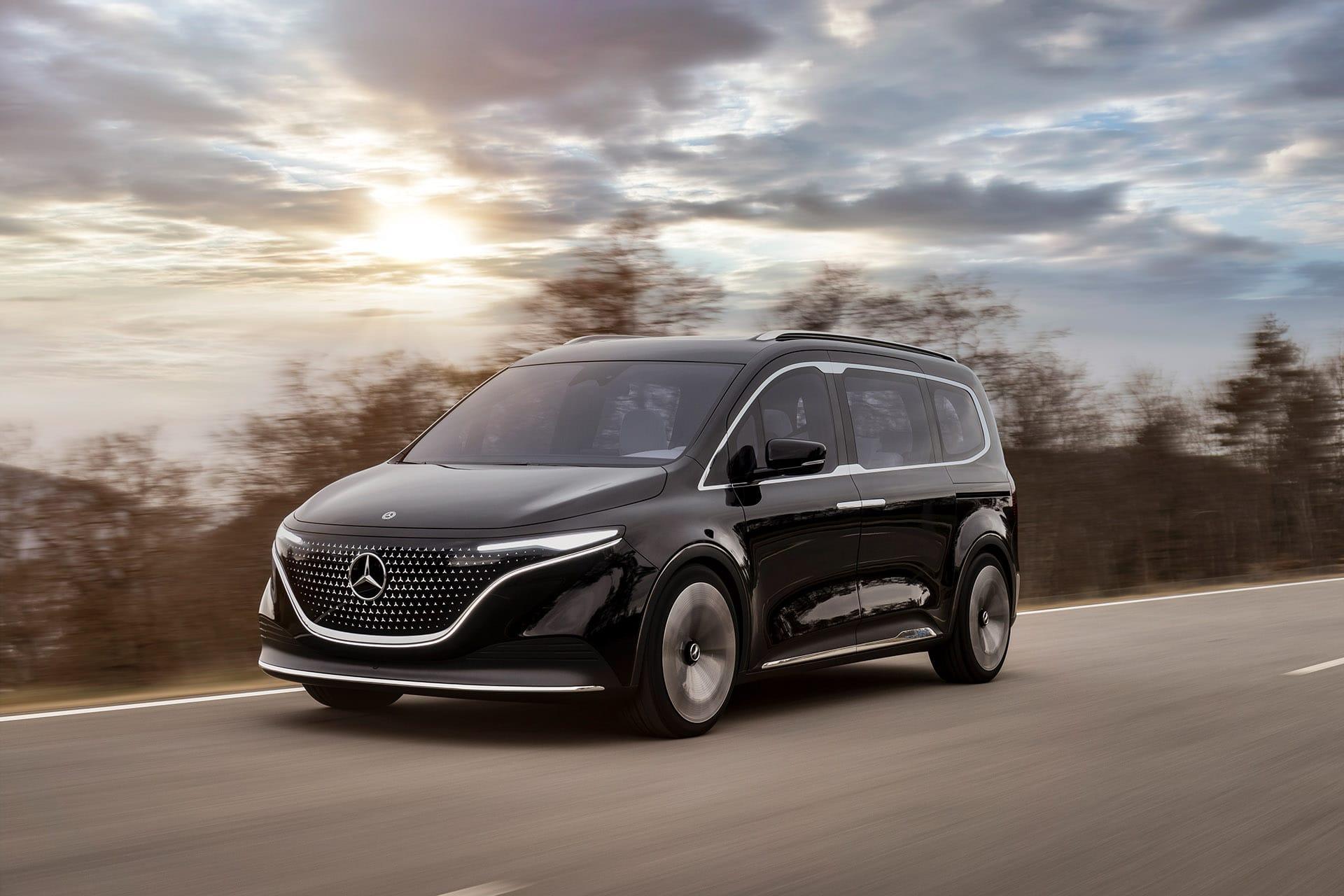 Mercedes-Benz Concept EQT - прем'єра нового електричного концепту