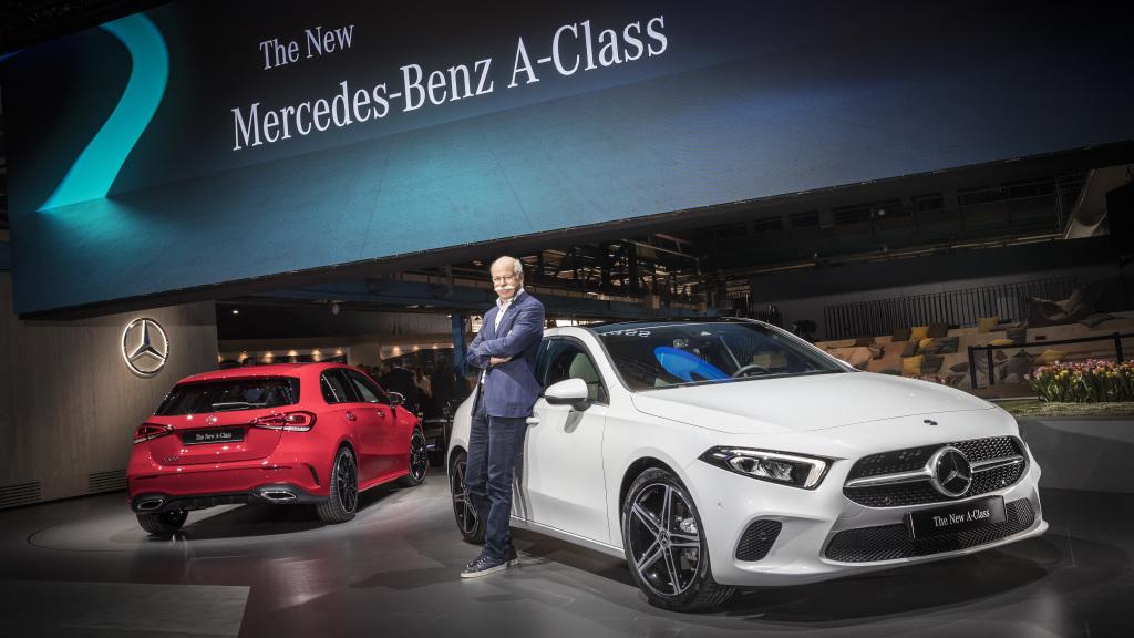 Mercedes–Benz A–Класу  нові двигуни з приводом 4MATIC