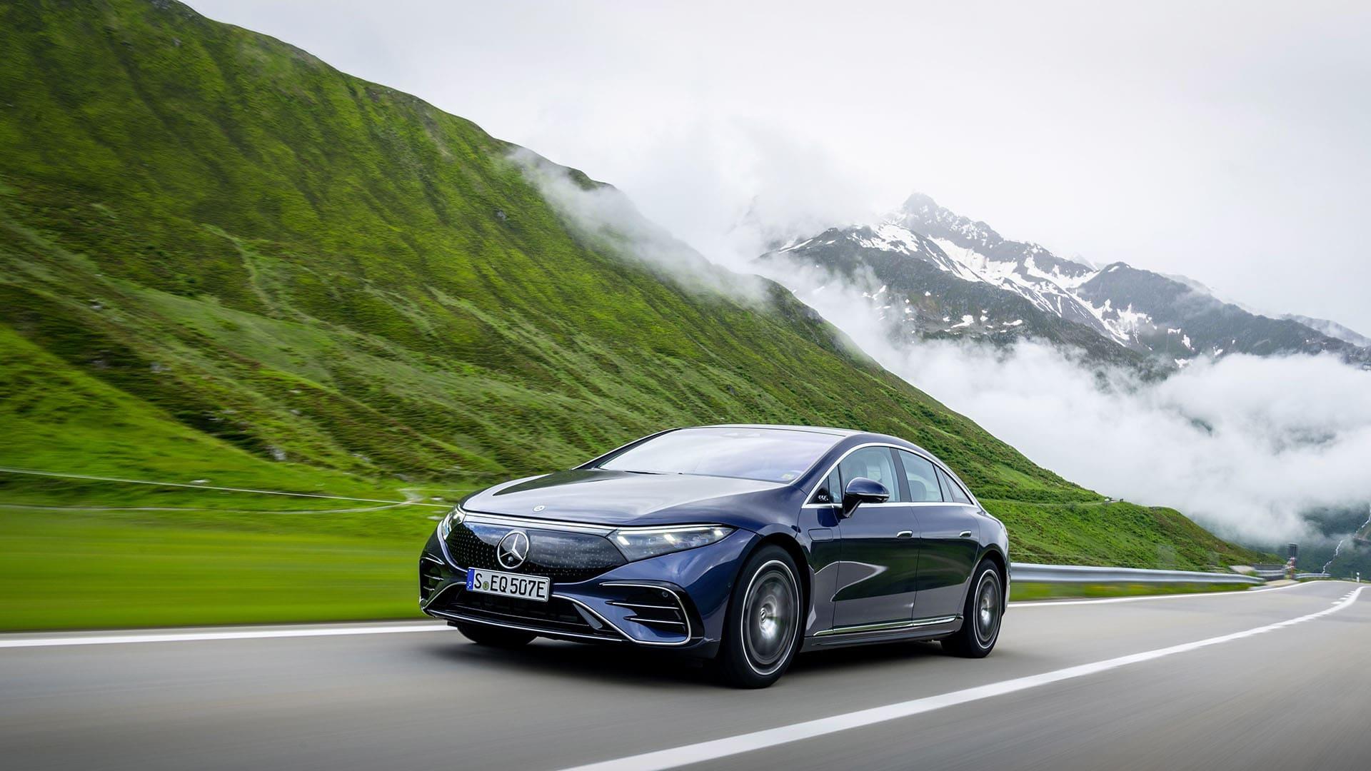 Головне про електричний EQS від Mercedes-EQ: коротко про все