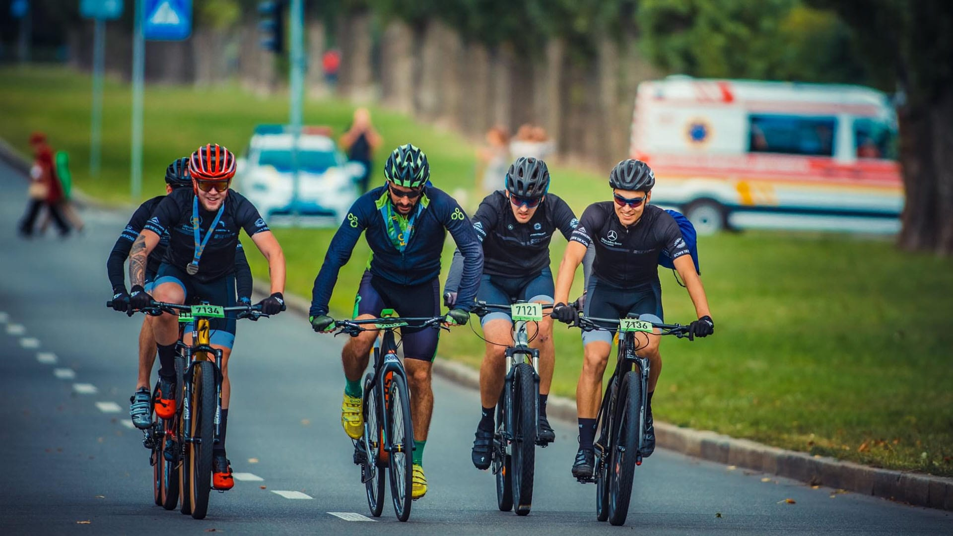 Результати веломарафону Київська сотка – команда Escape завоювала 4 золотих медалі