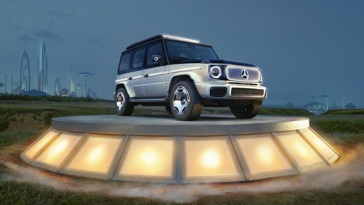 Прем'єра EQG Concept від Mercedes-EQ: електричний G-Class готовий до епохи електромобільності
