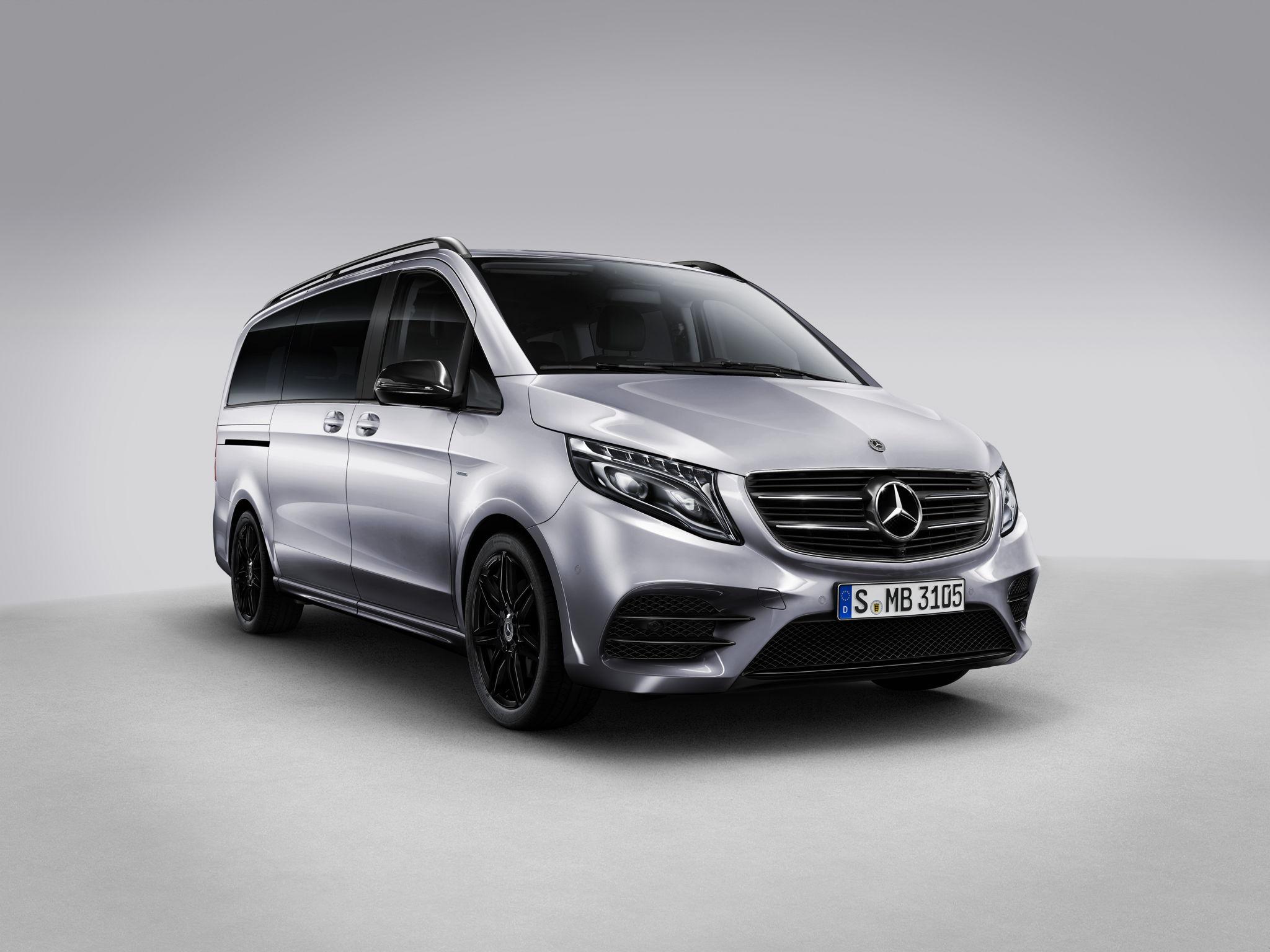 Оголошено старт продажів Mercedes–Benz V–Класу з пакетом Night Edition