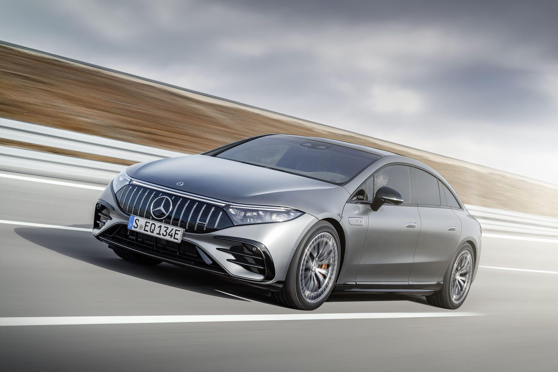 Прем'єра нового Mercedes-AMG EQS 53 4MATIC +: перший серійний автомобіль AMG з електричним приводом