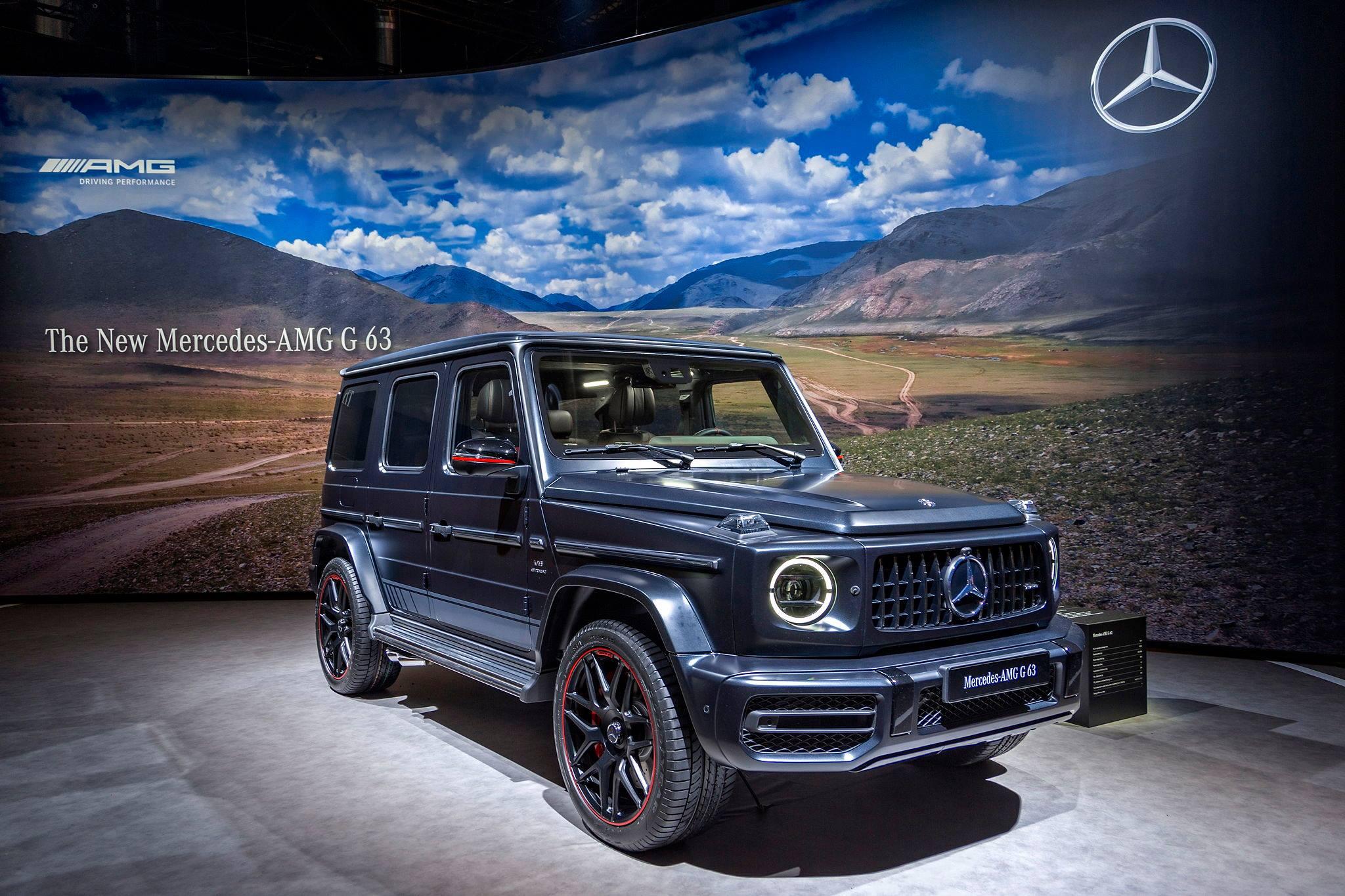 Mercedes–Benz представив позашляховик AMG G 63 в Женеві