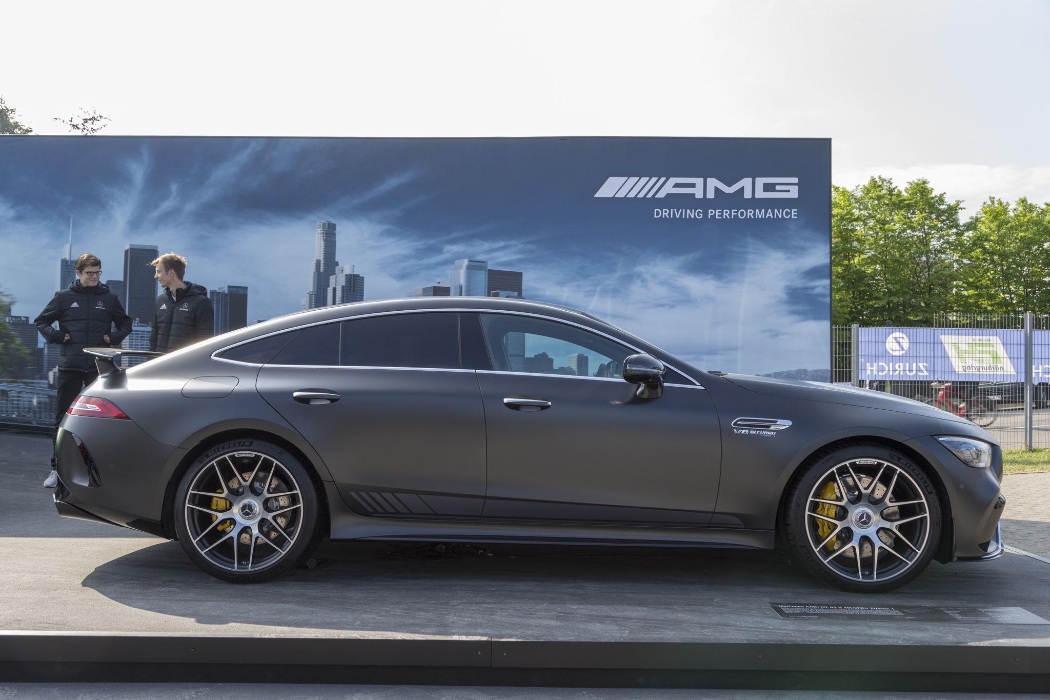 Впервые 630–сильный Mercedes–AMG GT 63 S Edition 1 появился на публике