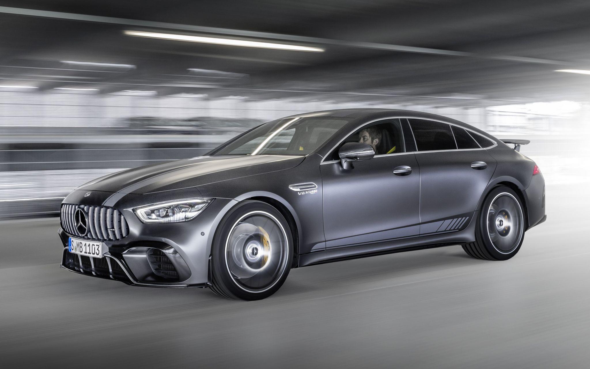 Новый Mercedes-AMG GT 63 S: версия Edition 1 выходит на рынок Европы