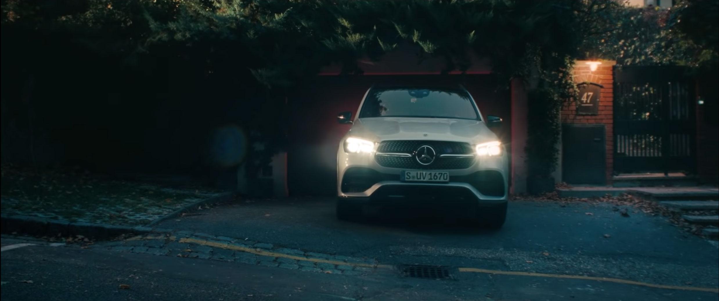 Нова кампанія Mercedes–Benz GLE: кожна подорож робить вас сильніше