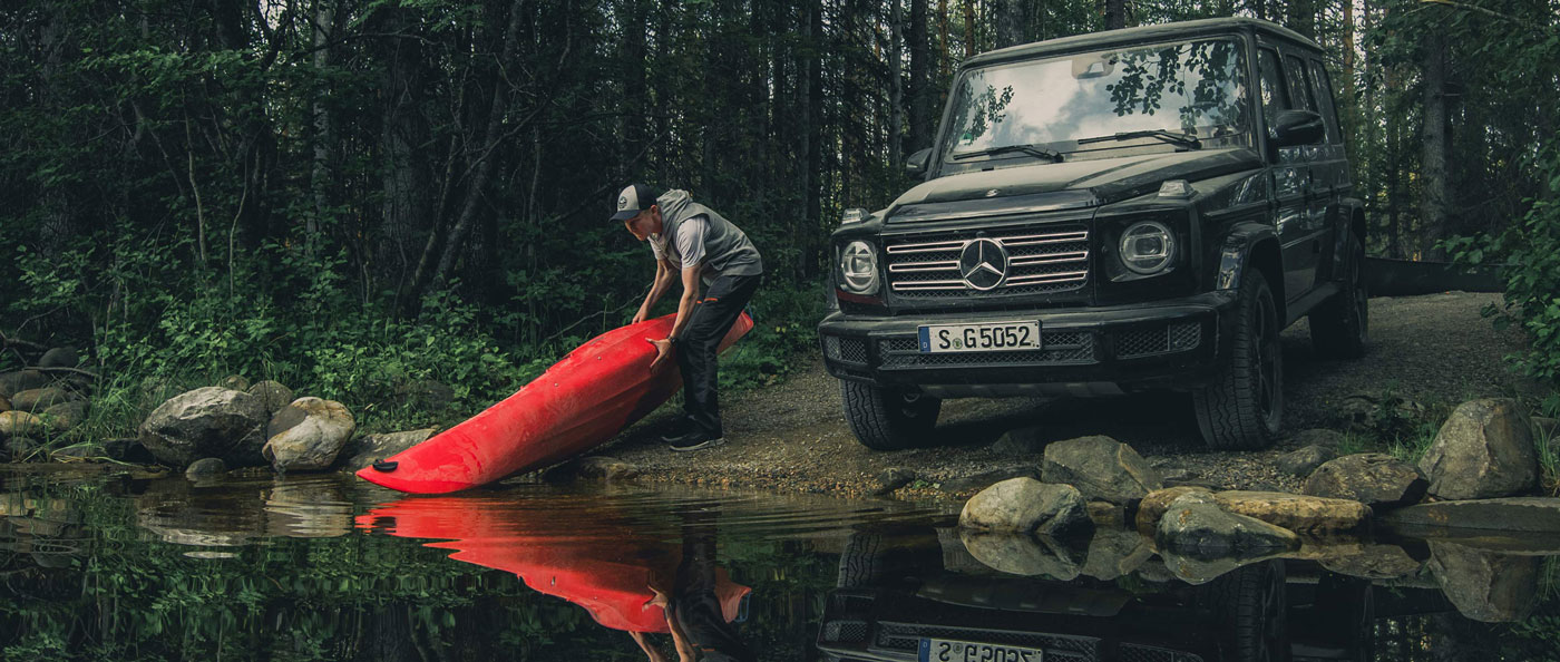 Дикий тест-драйв: крізь Тайгу на новому Mercedes-Benz G-Class 2019