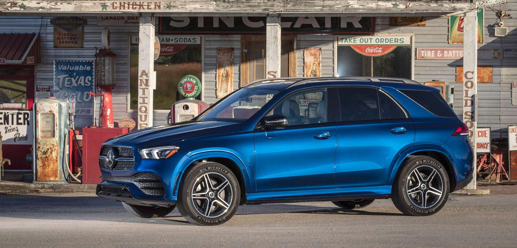 Mercedes-Benz представил пакет AMG Line для нового GLE 2019