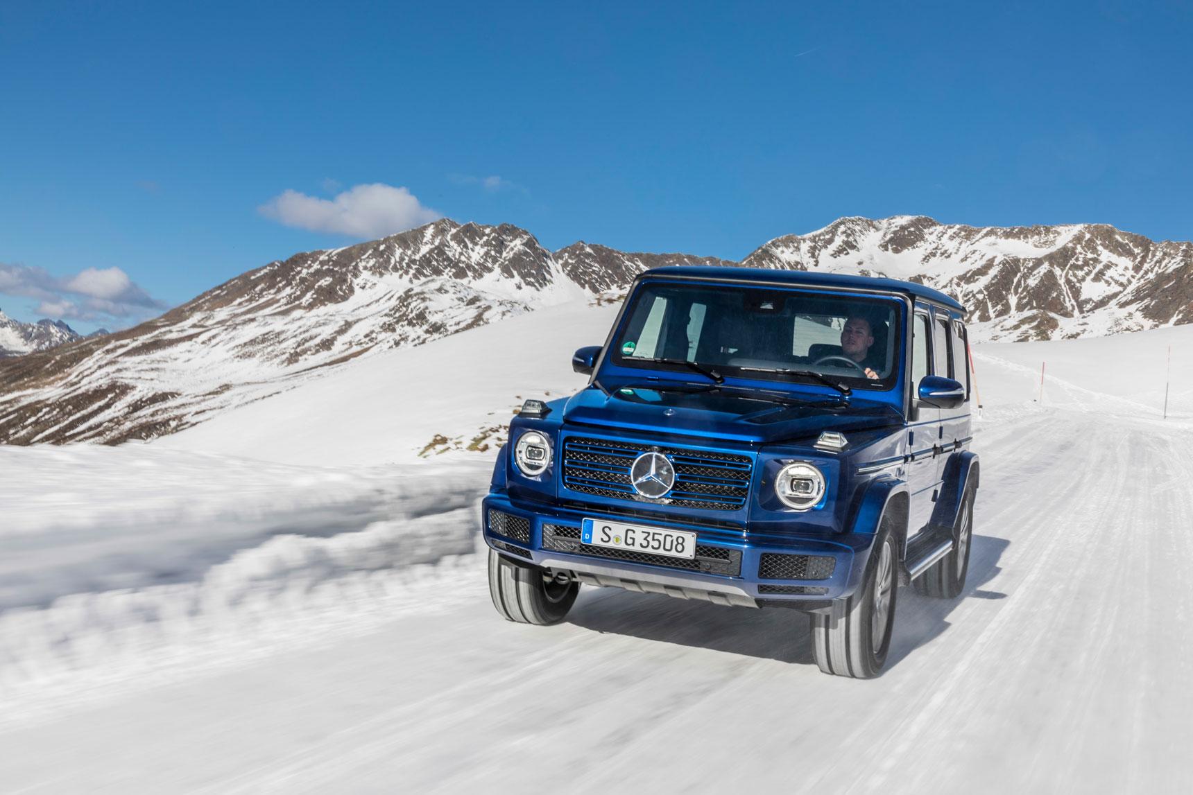Новый Mercedes-Benz G 350 d:  исследуйте новые возможности с комфортом