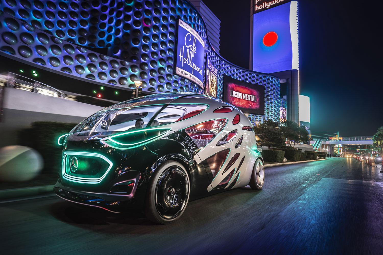 Mercedes-Benz показали новий концепт-кар Vision Urbanetic