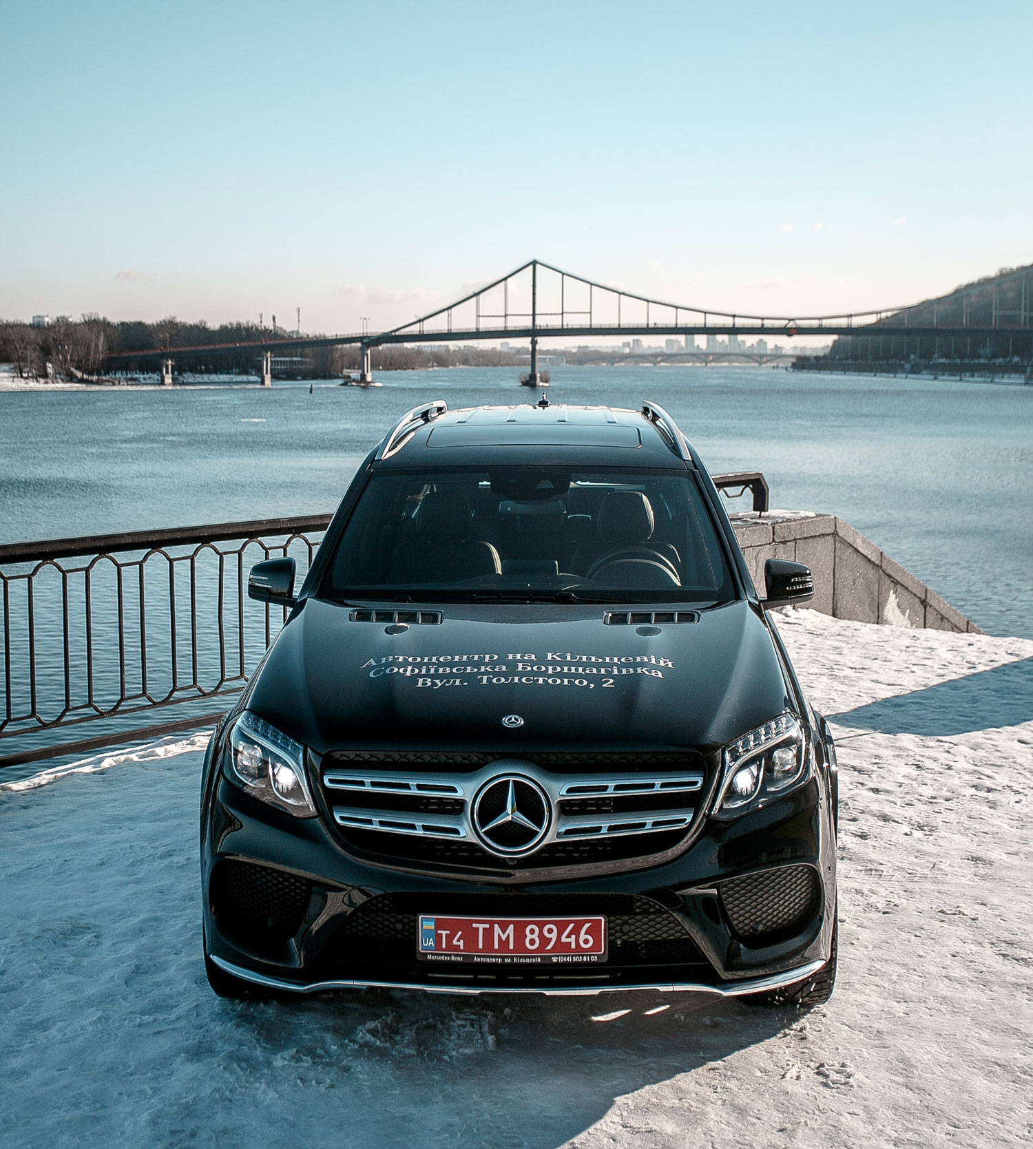 Новий Mercedes-Benz GLS 350d