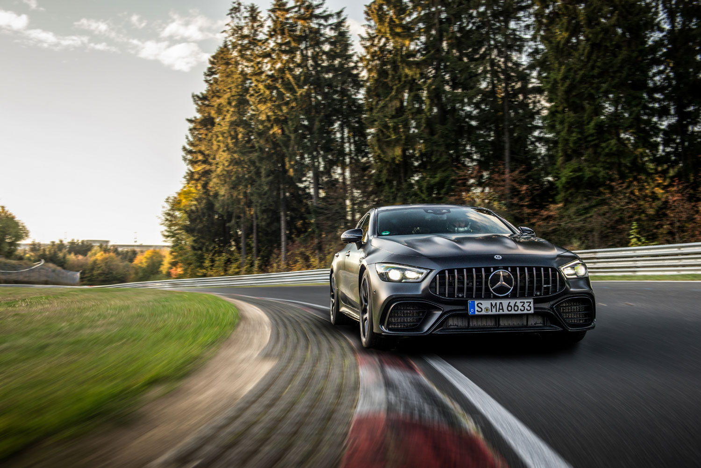 Новый Mercedes-AMG GT 63 S 4MATIC поставил рекорд на трассе Нюрбургринг