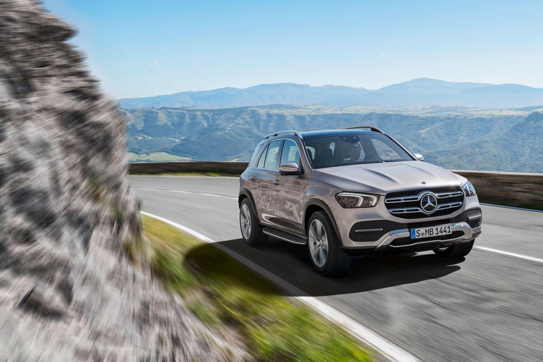 Новий Mercedes-Benz GLE 2019 приїде в Україну в квітні