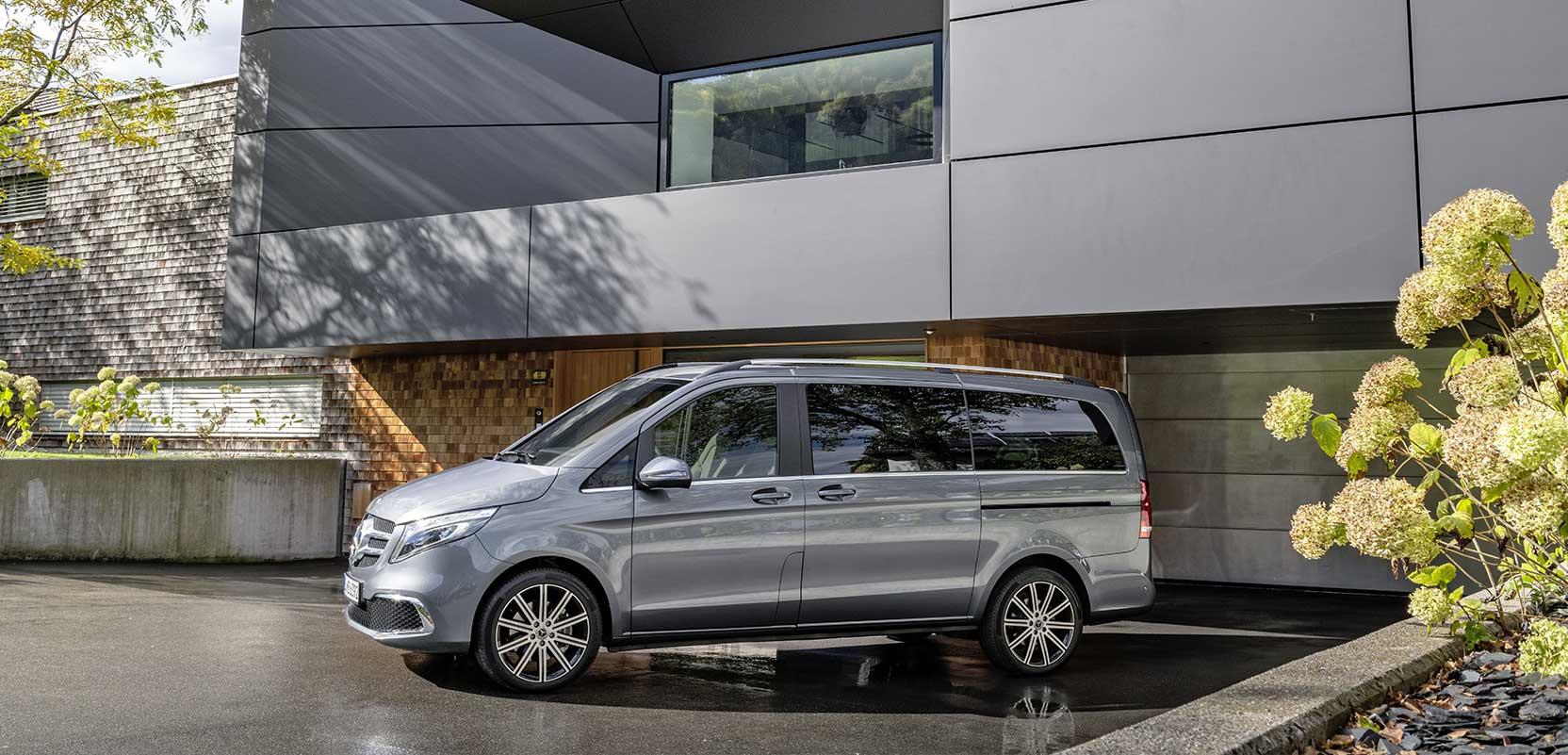 Новий Mercedes-Benz V-Class 2019 офіційно представлений в Штутгарті