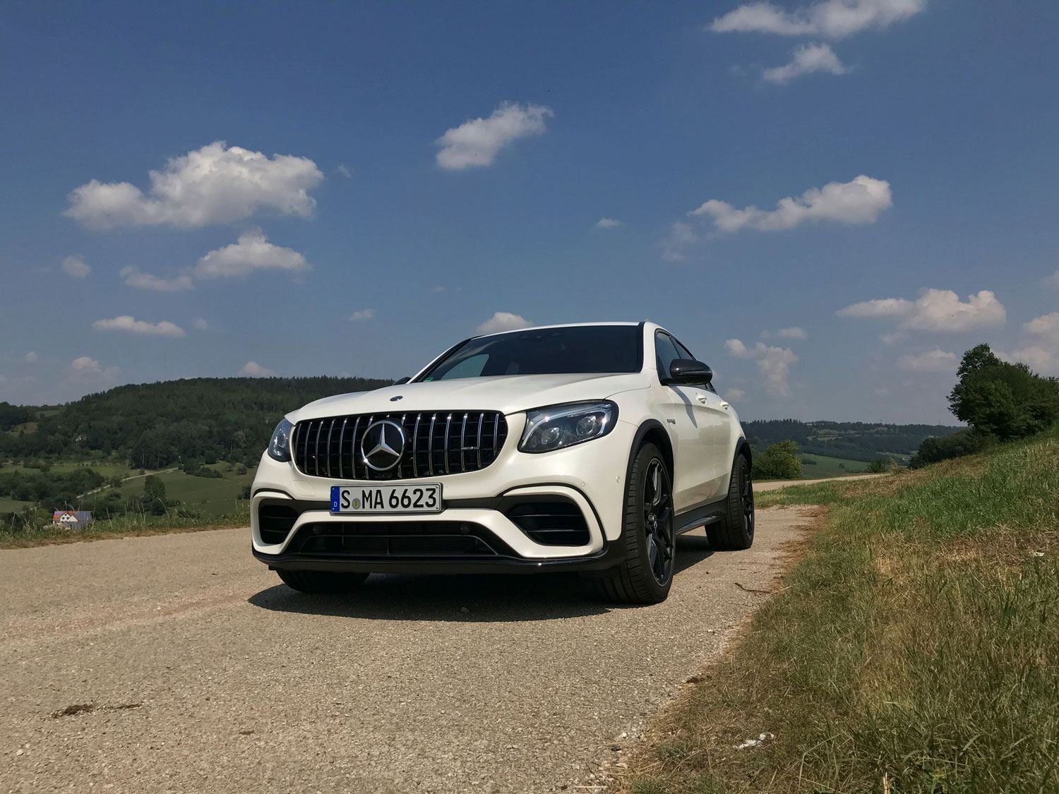 Новий Mercedes-AMG GLC 63 S 4MATIC